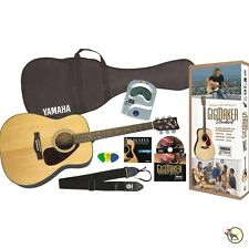 Yamaha Gigmaker Standard Acoustic Guitar Tuner Bag Strings Picks Beginner Pack