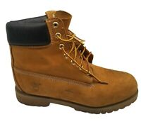 Timberland 6 Inch Mens Premium Wheat Suede Waterproof Boots Sz 12M