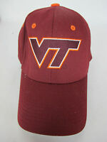 Virginia Tech Hokies NCAA Hat Baseball One Size Strapback Cap