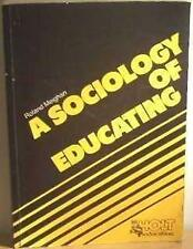 Sociology of Educating, Roland Meighan, Used; Good Book