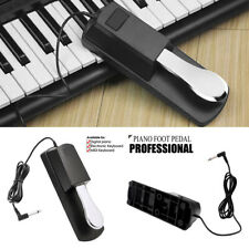 More details for for yamaha piano keyboard universal piano-style sustain foot pedal anti-slip uk