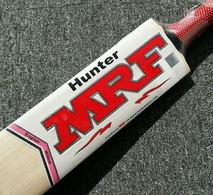 MRF Hunter English Willow Cricket Bat +AU Stock + Free knocking & ETC worth $100