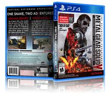 Metal Gear Solid V: edición Definitiva-reemplazo PS4 cubierta y caso. sin Juego!!!
