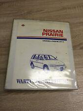 Werkstatthandbuch Wartungsanleitung Nissan Prairie Modell M11 Ordner