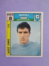 FIGURINA CALCIATORI IMPERIA FOOTBALL N.111 ZOFF NAPOLI 1969-70  RARE NEW-FIO