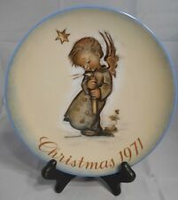 1971 Christmas Plate Angel West Germany Sister Berta Hummel Schmid 1st/Series