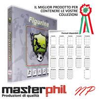 MASTERPHIL Raccoglitori 10 - 20 fogli per Figurine Panini, Adrenalyn e adesivi
