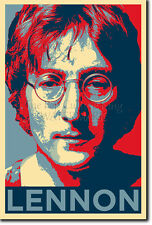 John Lennon PHOTO PRINT POSTER (Obama Hope)
