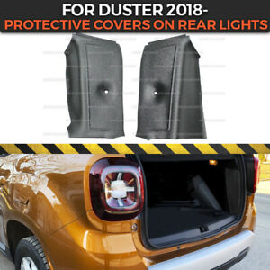 Protective Covers on Rear Lights in trunk for Dacia Duster 2018- inner moldings