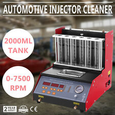 TQ-6 Petrol Injector Cleaner Tester 6 Cylinder Ultrasonic Cleaner Injection Car