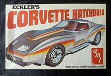 AMT ECKLER'S CORVETTE Hayon 1/25 Scale Model Kit