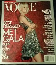 TAYLOR SWIFT MET GALA VOUGE MAG  2016 Best Dressed BRAND NEW Buy 2+ and SAVE $