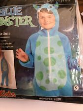 Blue Monsters Inc Boys Girls Halloween 3-4 Years NIP See Size Offer