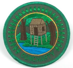 BSA ~ Concharty Patch ~ Cabin by the Lake ~ Boy Scouts of America