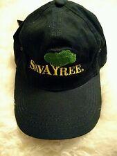 Tree hugger SAVATREE save a tree baseball  hat I love Trees printed on the back