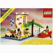 Vintage Lego 6265 Sabre Island Legoland, Boxed, 100% Complete, Instructions