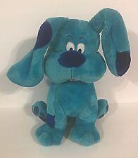 "LARGE Vintage Blue's Clues BLUE 15"" Plush Dog RARE"
