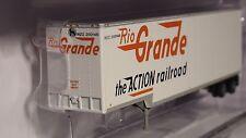 N-SCALE TRAINWORX #40301-01 40' DROP FRAME VAN RIO GRANDE NO. #200145
