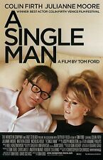 A Single Man movie poster  : 11 x 17 inches Colin Firth, Julianne Moore