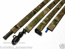 Cordura Fabric Multicam Hydration tube cover, Backpack tube hose sleeve