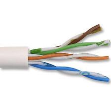 White Cat 5e UTP Ethernet Network Cable Per 1 metre