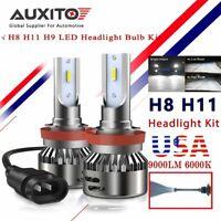 AUXITO 2X H11 H8 H9 LED Headlight Bulbs Low Beam LED Headlight 6000K White Kit