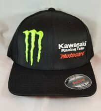 Monster Kawasaki Racing Team Motocard hat S/M