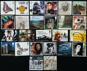 GB Kiloware 2003 - 2021 25 Multi Issue Used Off Paper SPACEFILLERS & SECONDS (6)
