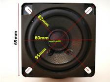 "2pcs 2.75""inch 8ohm 8Ω 12W full range speaker Loudspeaker Home Audio parts"