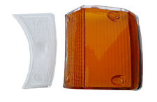 VOLVO 140 TURN SIGNAL LENS kit amber and clear left front  1973, 1974