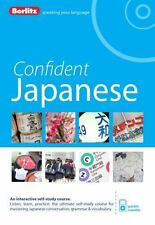 Confident Japanese by Berlitz With CD and box Berlitz Japanese learn Japanese