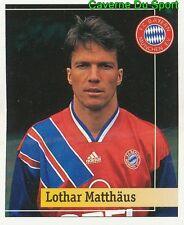 002 LOTHAR MATTHAUS GERMANY FC BAYERN MUNCHEN STICKER FUSSBALL 1995 PANINI