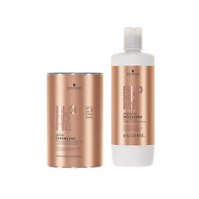 Schwarzkopf Blondme 6% Premium Care Developer 1 Ltr + Blondme 450G