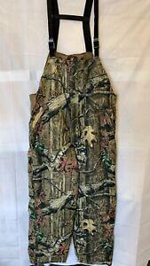 Bowning Men's Mossy Oak Break-Up Infinity Insulated Bib Overalls Camo Hunting