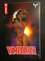 VAMPIRELLA 8 VARIANT MARK BEACHUM NM VOL 8 DYNAMITE 1 COPY 2019 SACRED SIX