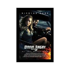 DRIVE ANGRY - 11x17 Framed Movie Poster by Wallspace