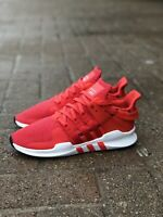 Adidas EQT Support ADV Mens CQ3004 Real Coral White Knit Running Shoes Size 9