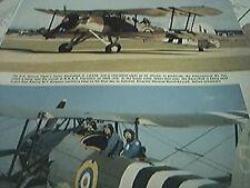 magazine cutting 1986 rn historic flight swordfish ii ls326 yeovilton
