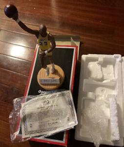 kareem abdul jabbar Signed Gartlan Jsa La Lakers Rare 125/1000 Figurine full loa