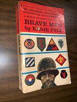 Brave Men Ernie Pyle 1964 Paperback