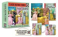 LADYBIRD CLASSIC BEDTIME STORIES GIFT SET 3 STORY BOOKS MUG, COASTER & DOOR SIGN