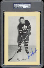 1944-63 Beehive (Group 2 Photos) Ron Hurst SP Autographed/Signed -- PSA/DNA