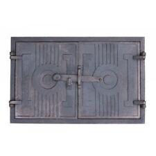 Brotofentür Holzofentür Ofen Ofentür aus Gußeisen Backofentür Stein 43 x 27 cm