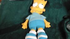 """BART SIMPSON 90S PLUSH TOY!17"""" SOFT TOY! THE SIMPSONS CLOTH DOLL Hard eyes"""
