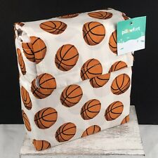 Basketball Twin Sheet Set 3 Pieces Kids Sports Bedding