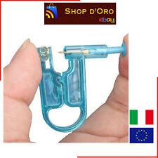 Piercing Pistola per Orecchini Monouso in Plastica Asepsis Orecchio Bambini