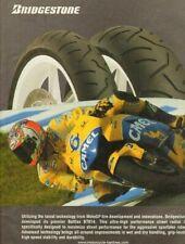 2005 Bridgestone Battlax BT014 Street Radial Motorcycle Tires - Vintage Ad