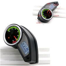 LCD Digital Odometer Speedometer Tachometer Fuel Guage Motorcycle Multi-display