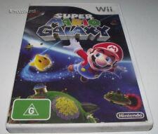 Super Mario Galaxy Nintendo Wii PAL *Complete*  Wii U Compatible