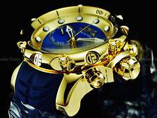 Invicta Men's 50mm VENOM Sea Dragon Swiss Chronograph Blue MOP 18K Gold IP Watch